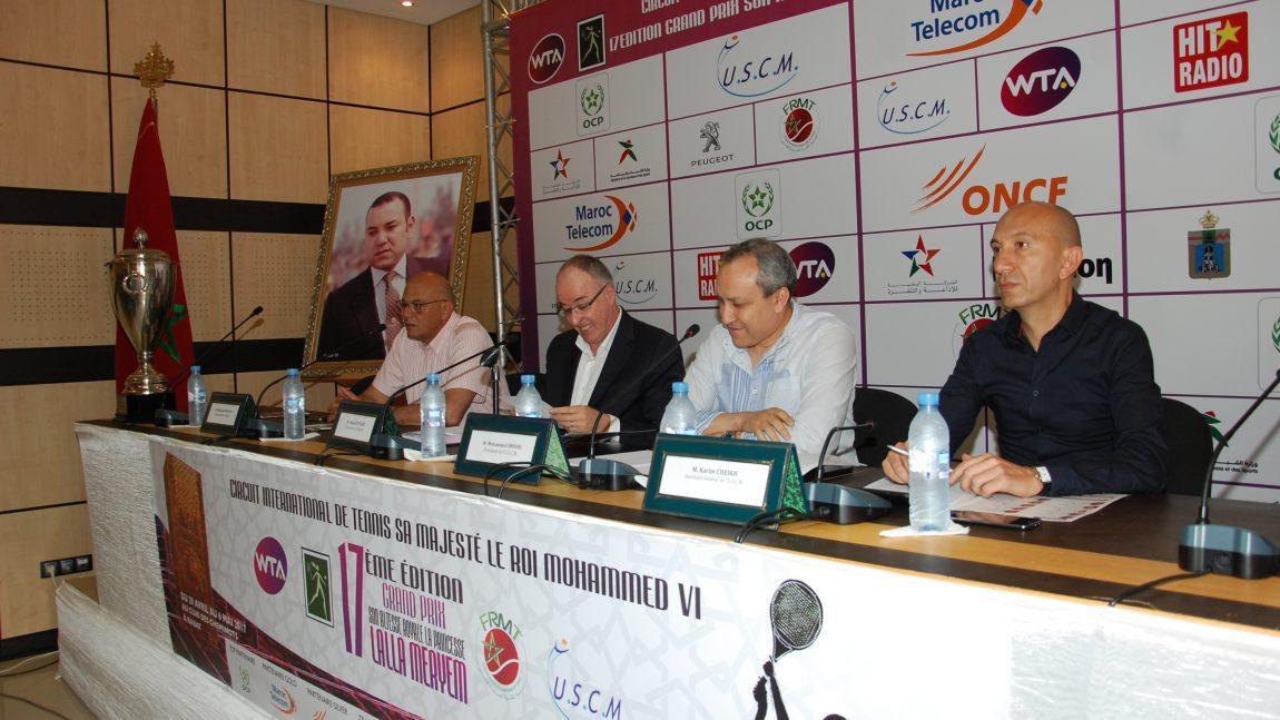 Conférence de presse du Grand Prix SAR Lalla Meryem 2017