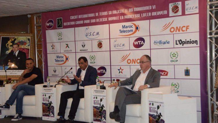 Conférence de presse du Grand Prix SAR Lalla Meryem 2018